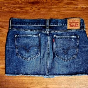 Levi's Skirts - Levi's sz 28 denim mini skirt excellent condition
